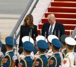 Donald Trump Pekin'de