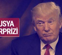 Donald Trump'tan sürpriz Rusya çıkışı