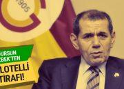 Dursun Özbek'ten Balotelli itirafı!