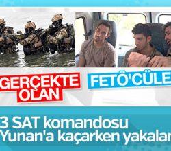 Edirne'de FETÖ'cü 3 SAT komandosu yakalandı