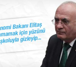 Ekonomi Bakanı tanınmamak için yüzünü gizledi!