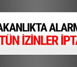 Enerji Bakanlığı'nda referandum alarmı! Tüm izinler iptal