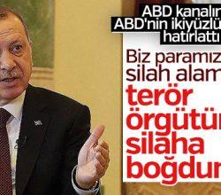Erdoğan ABD kanalında ABD'yi eleştirdi
