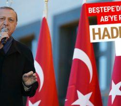 Erdoğan'dan AGİT'e: Haddinizi bilin!