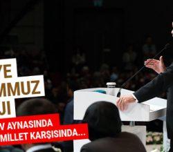 Erdoğan'dan FETÖ'ye 15 Temmuz mesajı
