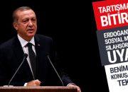 Erdoğan o tartışmalara son noktayı koydu