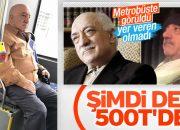 Fethullah Gülen'e benzeyen şahıs