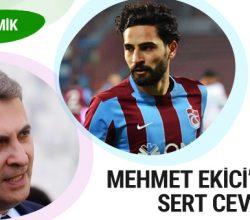 Fikret Orman'dan Mehmet Ekici'ye sert cevap