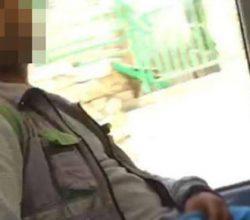 Fotoğrafı sosyal medyada teşhir edilmişti tacizci yakalandı