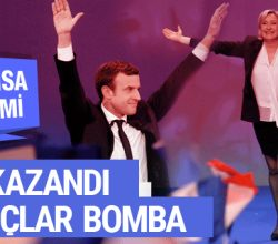 Fransa seçim sonuçları bomba! Fransa tarihinde bir ilk