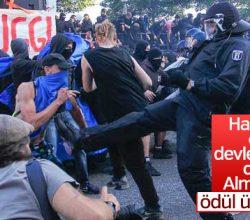 G20 zirvesinde görev yapan Alman polisler için konser