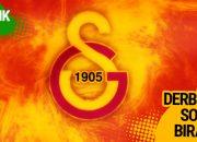 Galatasaray'da ayrılık! Derbiden sonra bıraktı