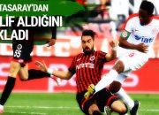 Galatasaray'dan transfer teklifi aldığını açıkladı