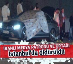 Gem TV'nin sahibi ve ortağı öldürüldü