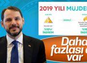 Hazine ve Maliye Bakanı Albayrak'tan ekonomi müjdeleri