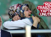 Hikmet Karaman küme düşmeden Trabzon'u suçlu tuttu