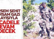 Hulusi Akar Şırnak'ta: Mücadelemiz devam edecek