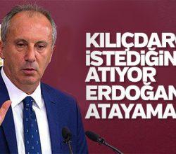 İnce'den Kılıçdaroğlu'nda diktatör göndermesi