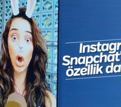 Instagram kamerasına yüz filtreleme özelliği geldi
