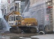 İstiklal Caddesi'nde su borusu patladı