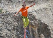 İsviçreli sporcu Malatya'da rekor denedi