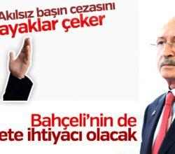 Kemal Kılıçdaroğlu Bahçeli'ye cevap verdi