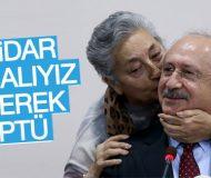 Kemal Kılıçdaroğlu'nu öperek iktidar isteyen partili