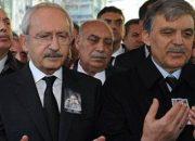 Kılıçdaroğlu Gül'ün babasının cenaze törenine katıldı