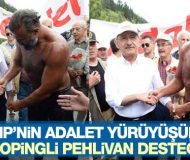 Kılıçdaroğlu'na dopingli pehlivan desteği