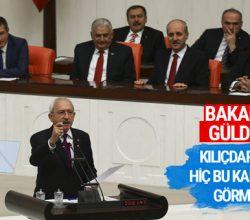 Kılıçdaroğlu'nun öfkesi Meclis'te tansiyonu yükseltti