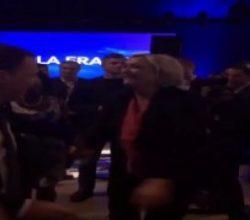 Le Pen'in seçim yenilgisinin ardından dans etme nedeni