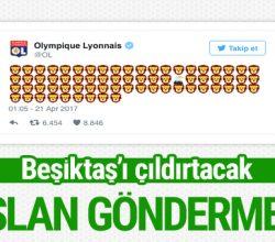 Lyon'dan Beşiktaş'ı çıldırtacak paylaşım