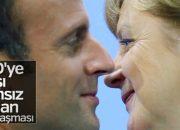 Macron Angela Merkel'e güven verdi