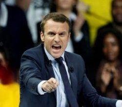 Macron hackerların saldırısına uğradı