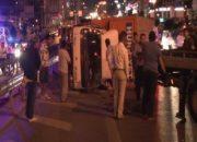 Maltepe'de zincirleme trafik kazası: 1'i ağır 4 yaralı