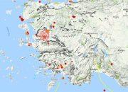 Manisa'da 4,2 Büyüklüğünde Deprem! İzmir'de de Hissedildi