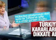 Merkel, AKPM'nin Türkiye kararını destekledi