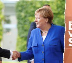 Merkel'den darbeci Sisi'ye övgü dolu sözler