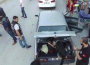 Mersin'de torbacılara 'drone'lu uygulama