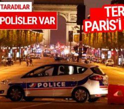 Paris'te çatışma çıktı: 2 polis öldü