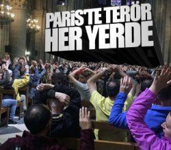 Paris'te terör korkusu