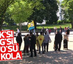 PKK'lılar ve FETÖ'cüler ABD'de Erdoğan'ı protesto etti