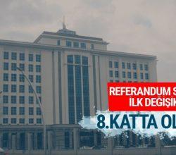 Referandum sonrası AK Parti'de ilk hazırlık bakın ne olacak