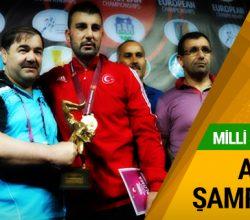 Rıza Yıldırım Avrupa şampiyonu!