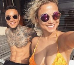 Rose Bertram ve Gregory van der Wiel ayrı kaldı