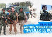 Rus askerleri de YPG'liler ile fotoğraf çektirdi
