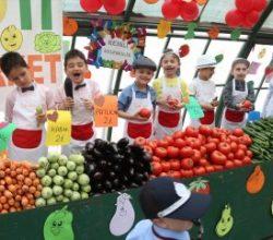 Samsun'da minik pazarcılar tezgah açtı