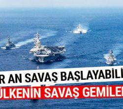 Savaş çanları çalıyor! ABD filosu Kore'ye varmak üzere