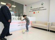 Savaş mağdurları için ortez protez merkezi açıldı