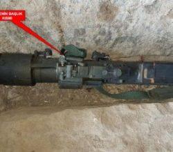 Şırnak'ta Rus yapımı füze ele geçirildi